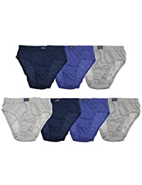Tom Franks Boys Briefs Underwear (7 Pack)
