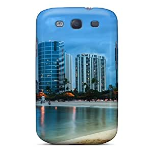 Hot Rtr2750ZMyU Case Cover Protector For Galaxy S3- Waikiki After Sunset