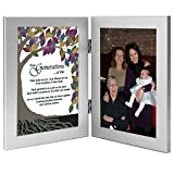 Four Generations Tree of Life Poem - Add Photo to Frame for Great Grandmother / Grandmother / Mom / Child