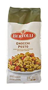 Bertolli Gnocchi Pesto Frozen Meals in a Basil Pesto Sauce With Cherry Tomatoes, 20 oz.