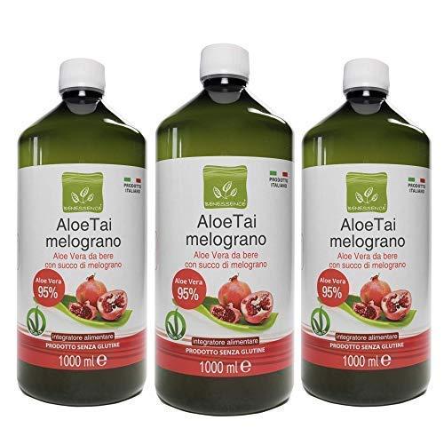 Succo di Aloe Vera e Melograno - 3L 1