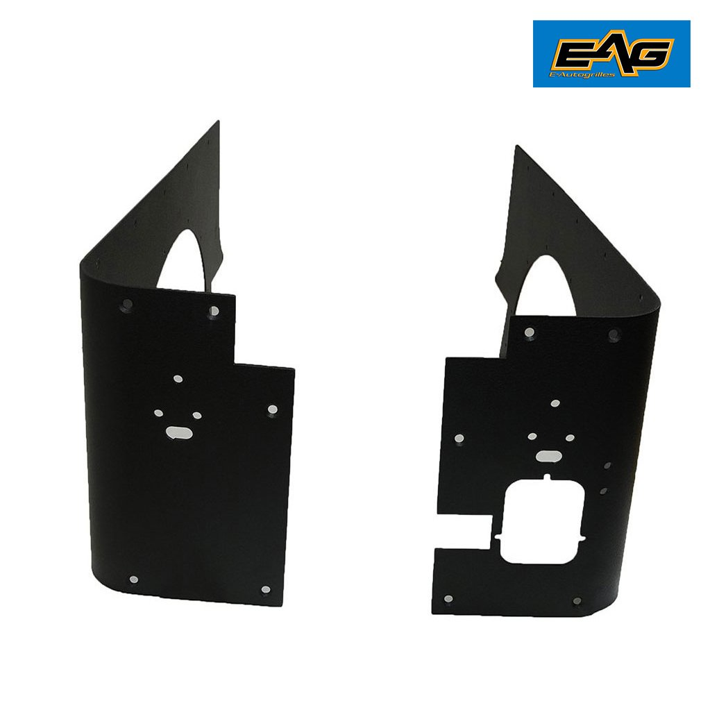 EAG Off Road Black Steel Rear Corner Guards