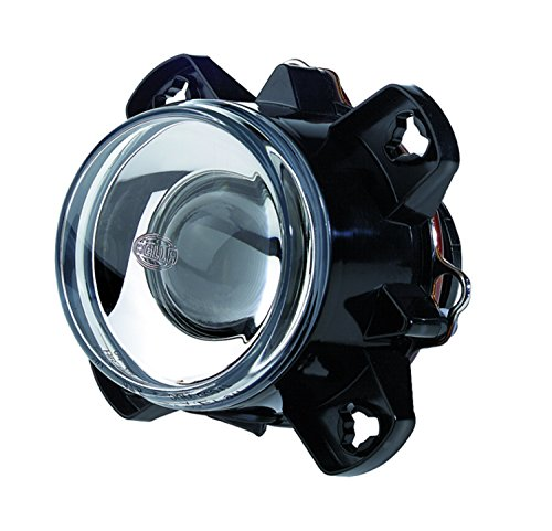 HELLA H11193047 90mm DE H9 12V SAE Lowlight Head Lamp with Frame