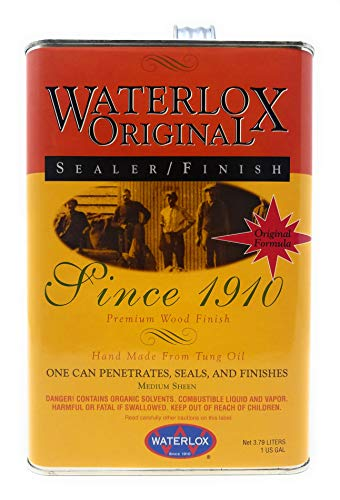 - Waterlox Original Sealer/ Finish- Gallon