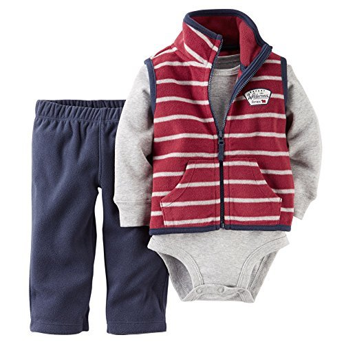 Fleece Baby Fleece Vest - 7