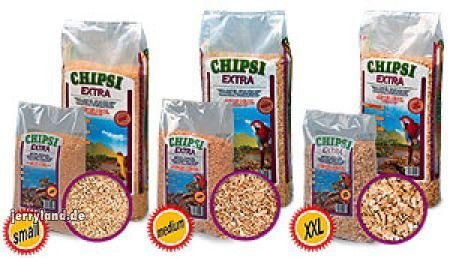 Chipsi Extra Medium Beech Chip Reptile Substrate 15kg by Chipsi