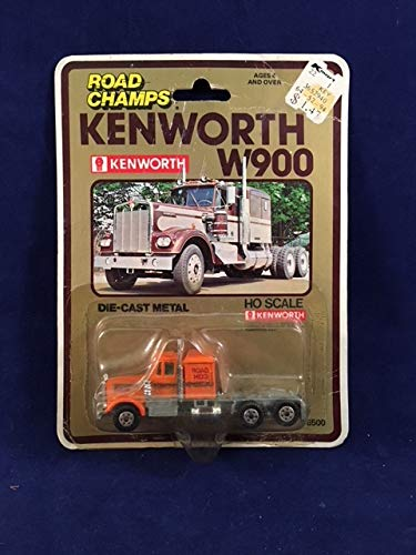 Kenworth W-900, Extra Long Chassis (Orange) Scale 1:87 for sale  Delivered anywhere in USA