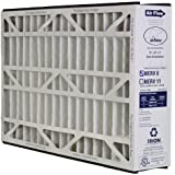 Trion Air Bear 255649-105 - Pleated Furnace Air Filter 16x25x5 MERV 8 by Trion