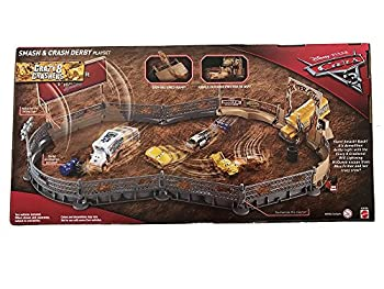 Disney Pixar Cars 3 Crazy 8 Crashers Smash & Crash Derby Playset 17