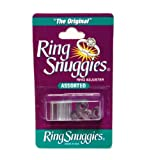 Arts & Crafts : Ring Snuggies Ring Sizer or Assorted Sizes Adjuster Set of Six Per Pack