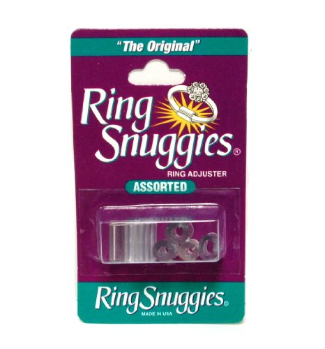- Ring Snuggies Ring Sizer or Assorted Sizes Adjuster Set of Six Per Pack