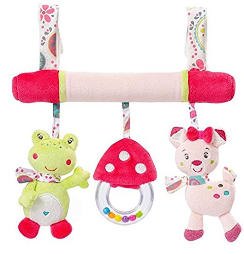Pink Toys For Prams - 9