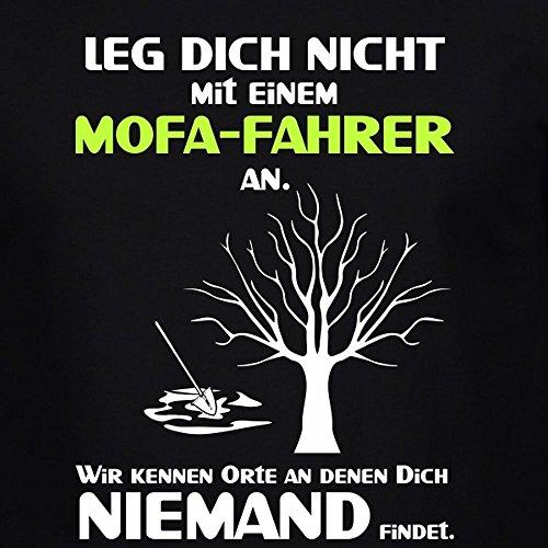 Fun Shirt Herren Leg Dich nicht mit einem Mofa Fahrer an Sprüche
