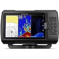 Garmin SONDA GPS Striker Plus 7CV GPS Integrado MAPAS Quickdraw Contours SONDA Chirp CLEARVÜ con TRANSDUCTOR GT20-TM