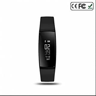 Fitness Bracelet Sportif et Pédomètre,Extrême mince,Sommeil chronomètre,Compteur de Calories,Podomètres,Mode multi-sport,avec Alarme,Step/Calories/Sommeil pour iPhone/Samsung/Android Smart Phone