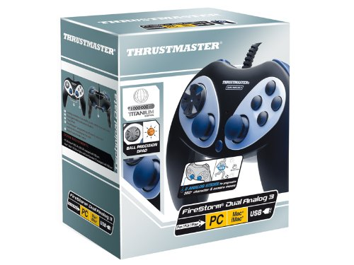 Thrustmaster Firestorm Digital 3 - Volante/mando (Gamepad, Mac, PC, D-pad, Alámbrico, USB 2.0, Negro, Plata): Amazon.es: Videojuegos