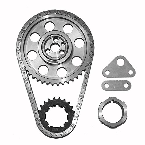 Double Thrust Cam Bearing - SA Gear 78533T-9 Chevy Billet Timing Set 4.8L 5.7L LS1 LS6 .250 Double Roller