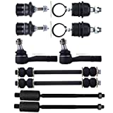 4x4 module for 2002 ford explorer - ECCPP Upper Lower Ball Joint Outer Inner Tie Rod Ends Sway Bar Links for 2002-2005 Mercury Mountaineer Ford Explorer 4.0L 2WD (10PCS)