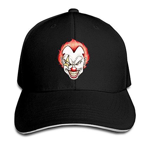 [ACMIRAN Clown Unisex Hats One Size Black] (Sports Related Halloween Costumes 2016)