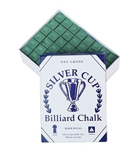 144 Pc Silver Cup Chalk in Green