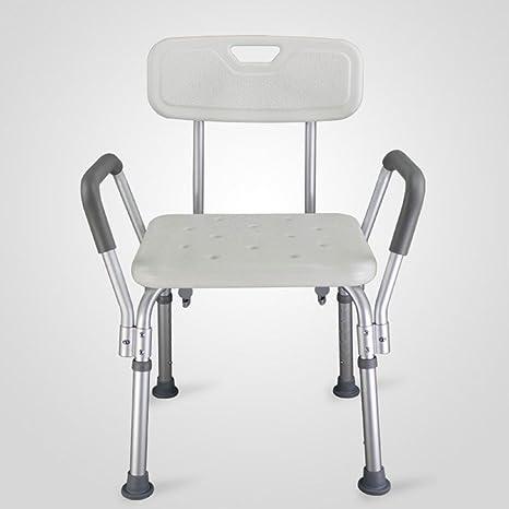RAQ Silla de baño Silla de baño Silla de ducha para ancianos Paciente paralizado Mujer embarazada