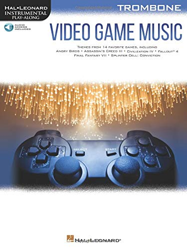 Video Game Music for Trombone: Instrumental Play-Along  ()