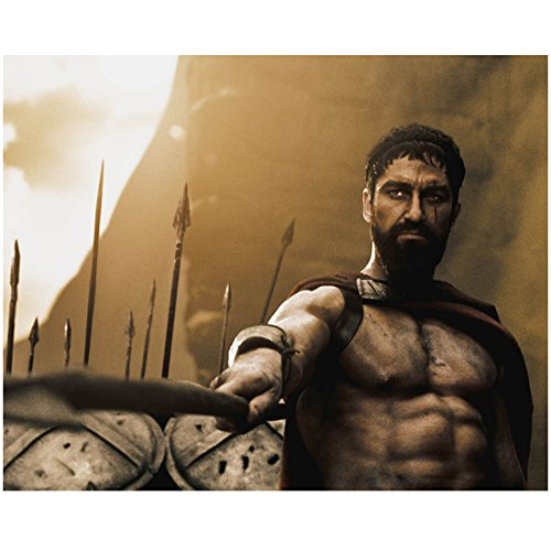 300-gerard-butler-as-king-leonidas-wearing-cape-pointing-spear-forward-8-x-10-inch-photo