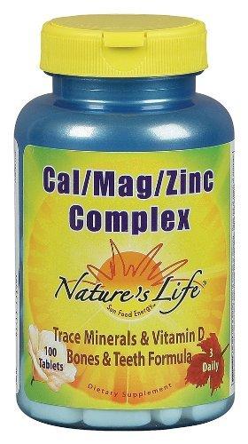 La vie de la nature - Cal Mag Zinc complexes, 100 comprimés