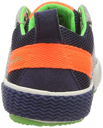 B J Zapatillas Boy Para fluo Orange C1040 Alonisso Geox Gris Niños grey apCqtwqSn