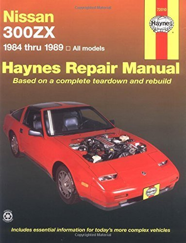Nissan 300ZX, 1984-1989 (Haynes Repair Manuals) by Haynes, John (1986) Paperback