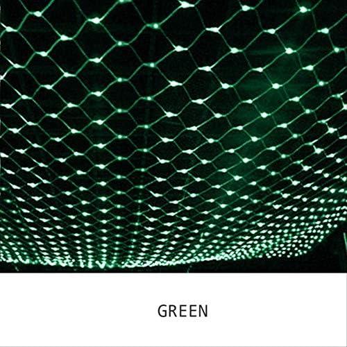 Led lichtnet met leds voor Kerstmis, Fairy String licht buiten, waterdichte party mesh-verlichting met staartstekker 3X2m 320 LED groen