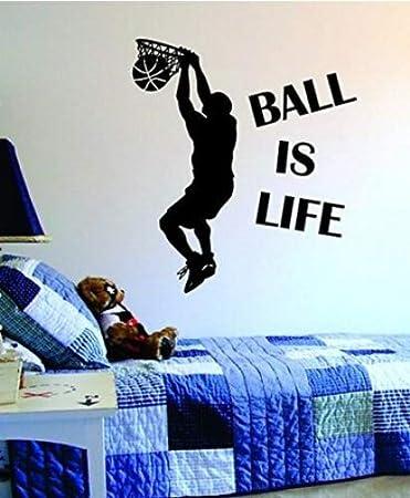 Etiquetas Adhesivos de Pared del Ball Is Life Versiones 2 Stickers ...