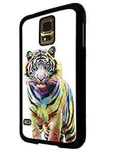 344 - Cute Fun Full Tiger Design For Samsung Galaxy S5 Mini Fashion Trend CASE Back COVER Plastic&Thin Metal