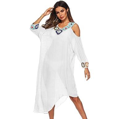 spedizione gratuita comprare on line risparmia fino all'80% Copricostume Mare Donna Vestito ❤️ ABCone Donna Vestito da ...