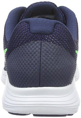 Nike Deep Royal Blue/Vltg Green-Wht, Zapatillas de Running Para Niños Azul (Deep Royal Blue / Vltg Green-Wht)