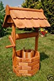 Deko-Shop-Hannusch Puits en bois enduit