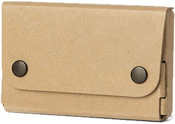 Archivador Tarjetero recibo de Tarjeta de Visita de la Caja, Tarjeta de Visita de Carpetas, de Gran Capacidad, Retro, Simple, Duro de Fibra librero (Color : B1): Amazon.es: Hogar