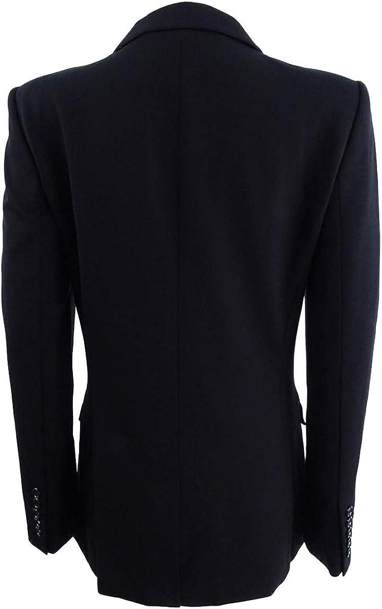 DKNY Womens Two-Button Blazer 6, Black