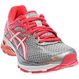 ASICS Womens Gel-Flux 4 Running Shoe, Mid Grey/White/Diva Pink, 6.5 D US