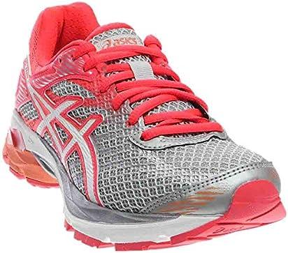 ASICS Women's Gel-Flux 4 Running Shoe Mid Grey/White/Diva Pink 6 M US