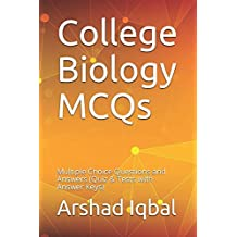 College Biology MCQs: Multiple Choice Questions and Answers (Quiz & Tests with Answer Keys)