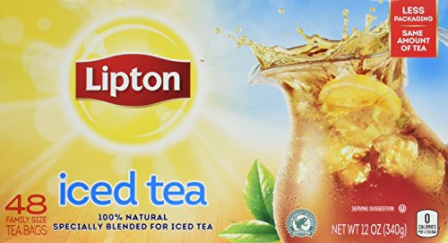 Lipton Family Sized Black Iced Unsweetened product image