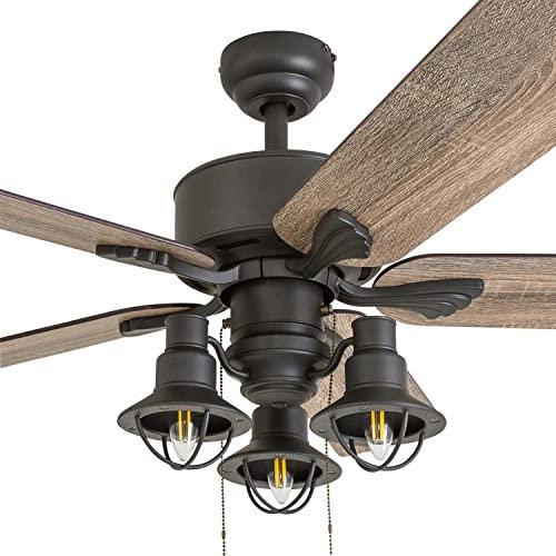 Prominence Home 50651-01 Sivan Farmhouse Ceiling Fan