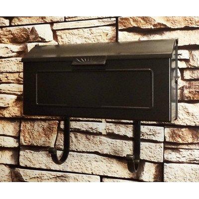 Special Lite Horizon Horizontal Mailbox Black
