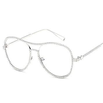 Gafas de Sol, Moda, Metal, Gafas de Sol, Diamantes ...