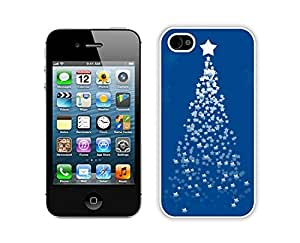 Popular Sell Design Iphone 4S Protective Skin Case Merry Christmas White iPhone 4 4S Case 24
