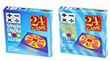 24 Games Combo Pack : 48 Card Deck Single Digit & 48 Card Deck Double Digit - Includes Exclusive Tips Sheet - Master Math Skills with this Dual Combo