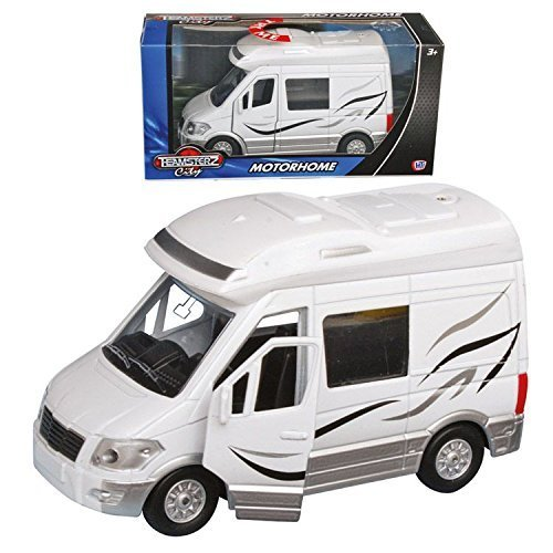 Teamsterz Motorhome with Engine Sounds Camper Van DieCast Vehicle