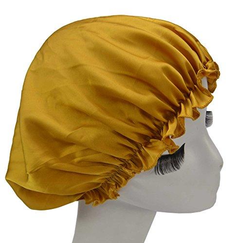 Mozentea Pure Silk Night Sleep Cap Sleeping Cap Hat YM01 ...