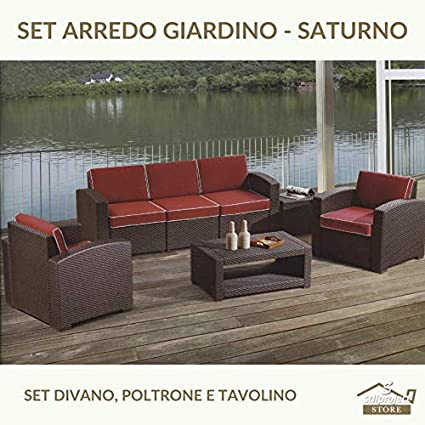 Stilprojectstore Set Arredo Giardino Color Grigio Giove